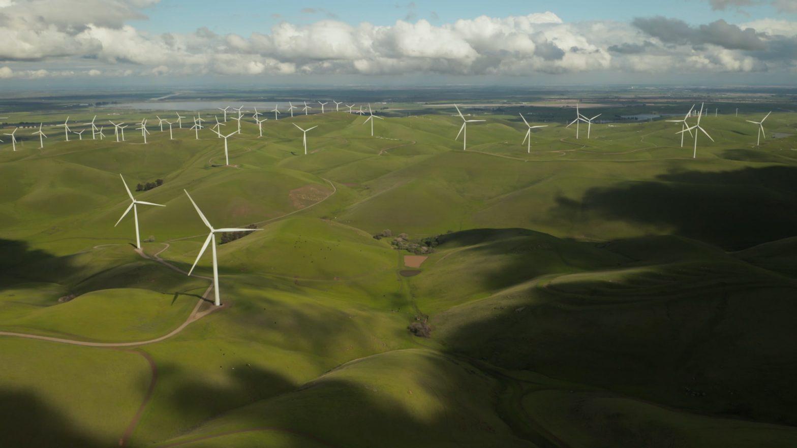 Energie éolienne zéro émissions de GES